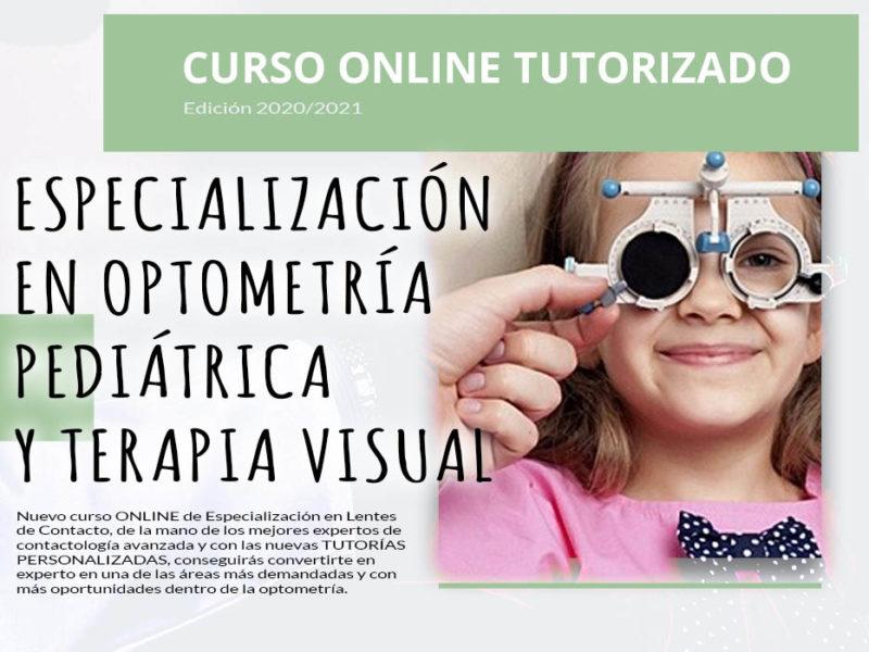 Optometría Pediátrica y Terapia Visual – Curso de Especialización Tutorizado