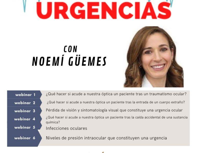 Urgencias Oculares en Optometría – Curso Monográfico