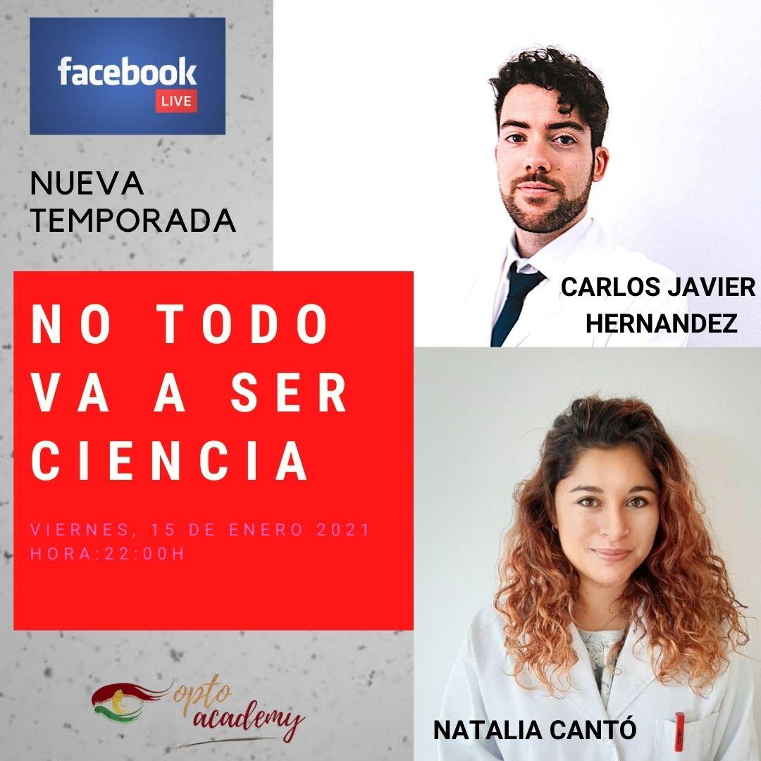 Nueva Temporada de NO TODO VA A SER CIENCIA