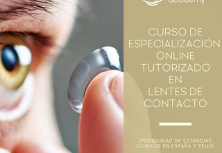 Curso de Especialización Online Tutorizado en Lentes de Contacto